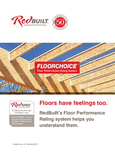 FloorChoice™ Floor Performance Brochure Thumbnail