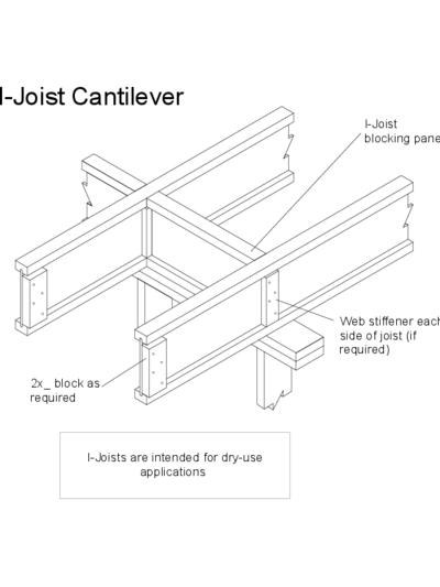 I-Joist Cantilever Thumbnail