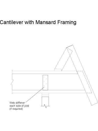 Cantilever with Mansard Framing Thumbnail