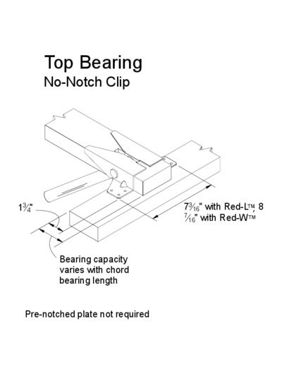 Top Bearing (No-Notch Clip) Thumbnail