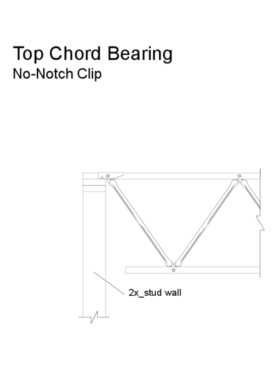 Top Chord Bearing (No-Notch Clip) (OW-05) Thumbnail
