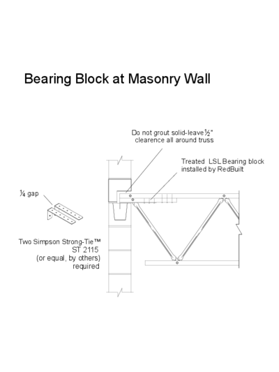 07 – Bearing Block at Masonry Wall Thumbnail