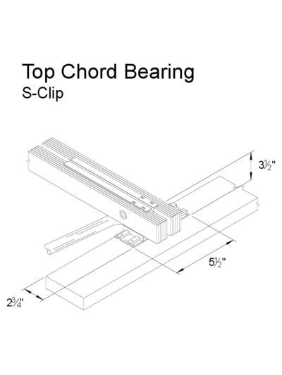 Top Chord Bearing (S-Clip) Thumbnail