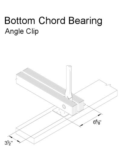 Bottom Chord Bearing (Angle Clip) Thumbnail
