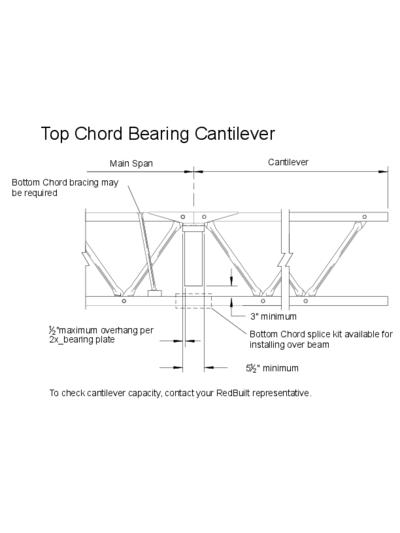 Top Chord Bearing Cantilever Thumbnail
