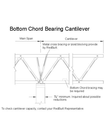 Bottom Chord Bearing Cantilever Thumbnail