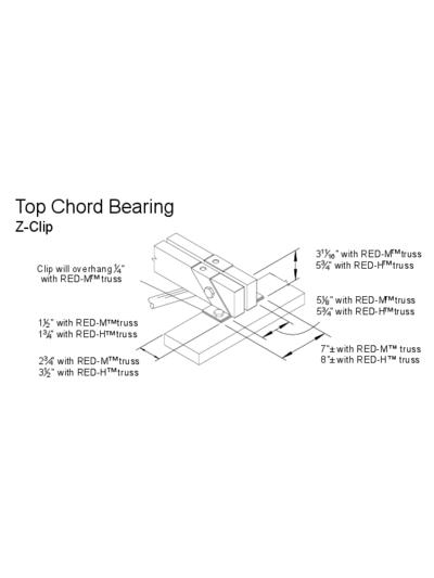 Top Chord Bearing (Z-Clip) Thumbnail