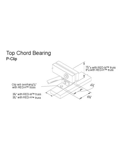 Top Chord Bearing (P-Clip) Thumbnail