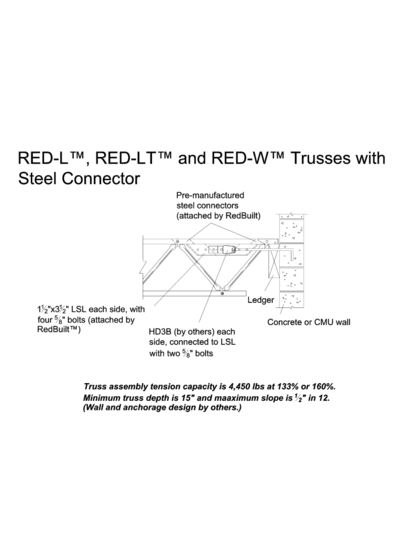 Trusses with Steel Connector Thumbnail