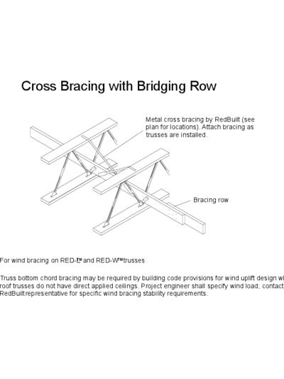 Cross Bracing with Bridging Row Thumbnail