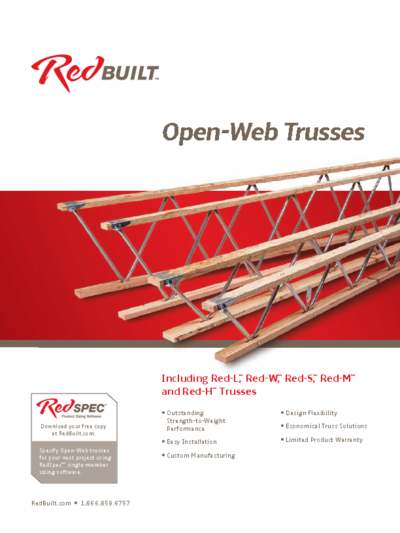 Open-Web Truss Specifier's Guide Thumbnail
