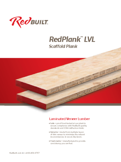 RedPlank™ Scaffold Plank Guide Thumbnail