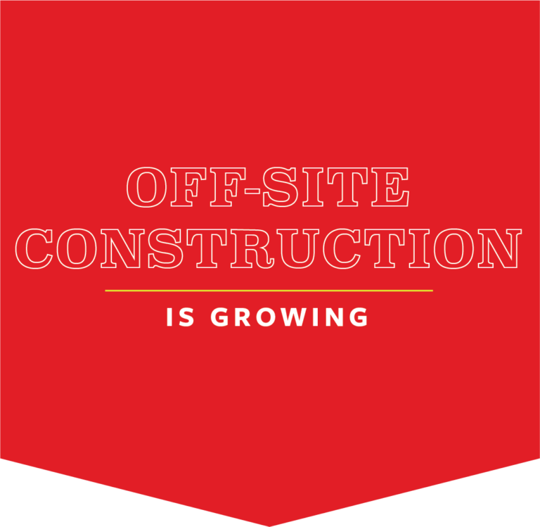 The Growth and Adoption of Off-Site Construction