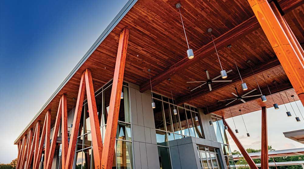 Mass Timber CLT building