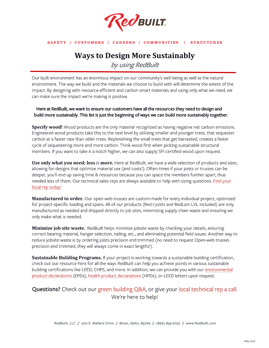 Ways to Design More Sustainably Thumbnail